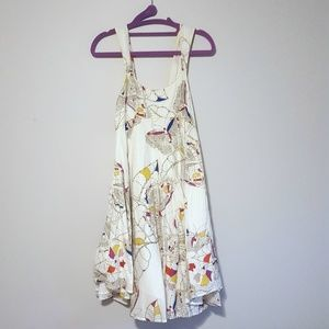 French Connection Butterfly sun dress